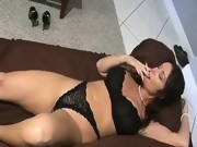 Horny Slut Smoking..