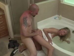 Best jacuzzi sex video. A young couple had sex in the jacuzzi. Man fuck hot blonde in the jakuzzi.