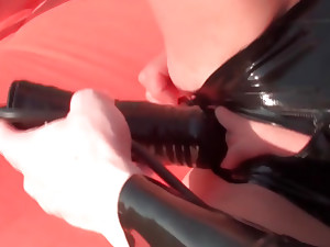 Two babes in BDSM..